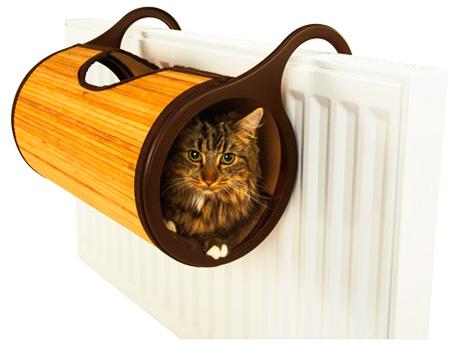 Выбор места для кошкиного домика