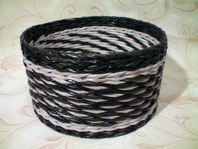 Плетение из трубочек для начинающих пошагово