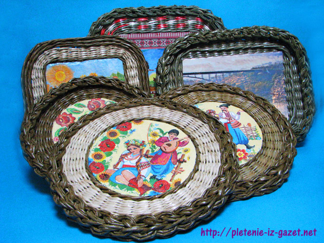 плетёные рамки с загибкой мирахелька