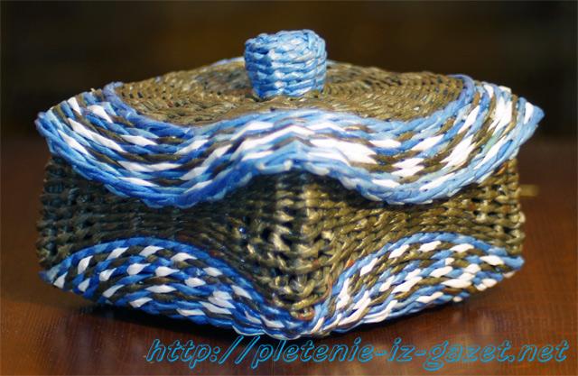 Плетение из материалов
