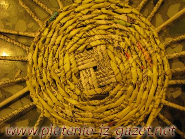 Плетение из газет. Фото №8