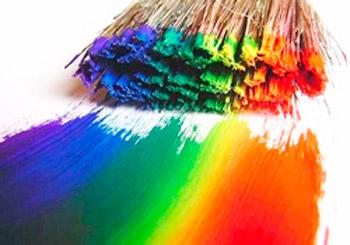 Как и чем красить газетные трубочки