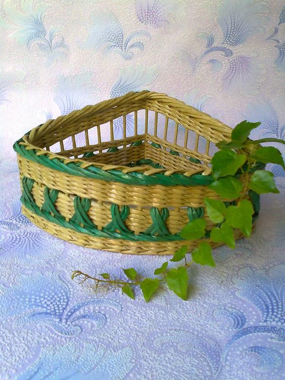 Плетение из газетных трубочек мастер классы натальи сорокиной
