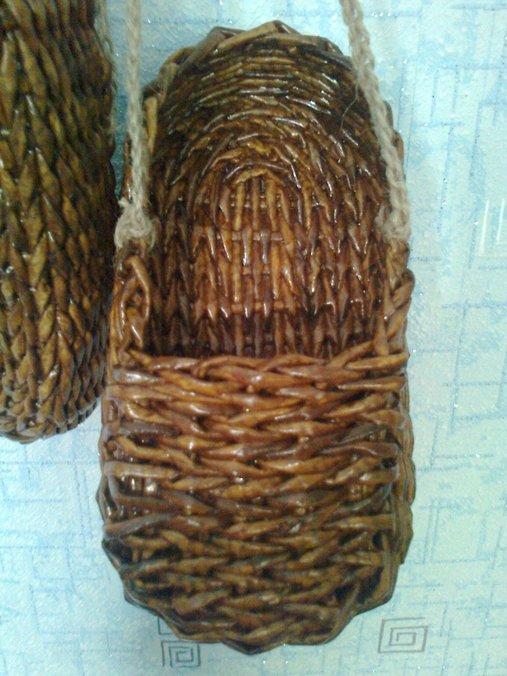 Мастер класс плетения лаптей из газетных трубочек