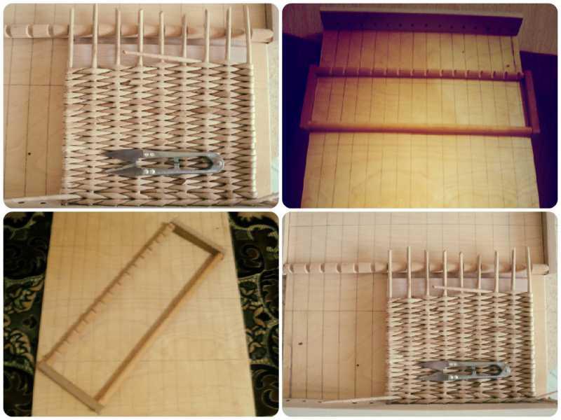 Как сделать станок для плетения из газетных трубочек 11